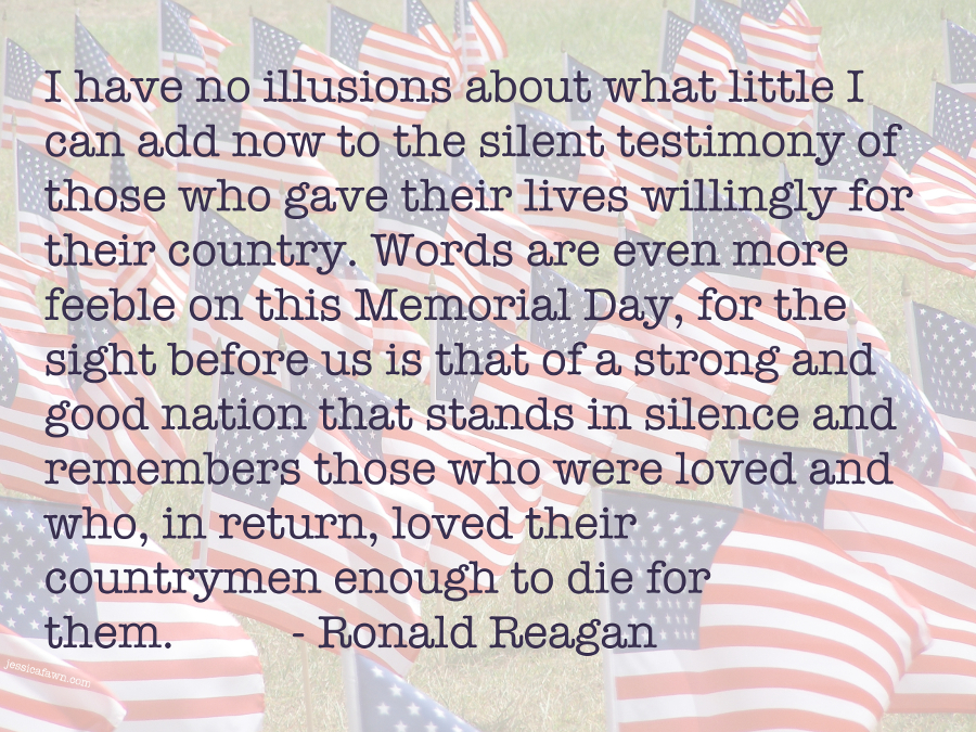 Remembering America's Heroes   JessicaFawn.com