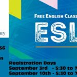 ESL Class Registration at the Carteret Library.