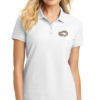 White Polo Women Silver