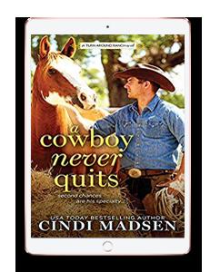 Cowboy Never Quits Mockup