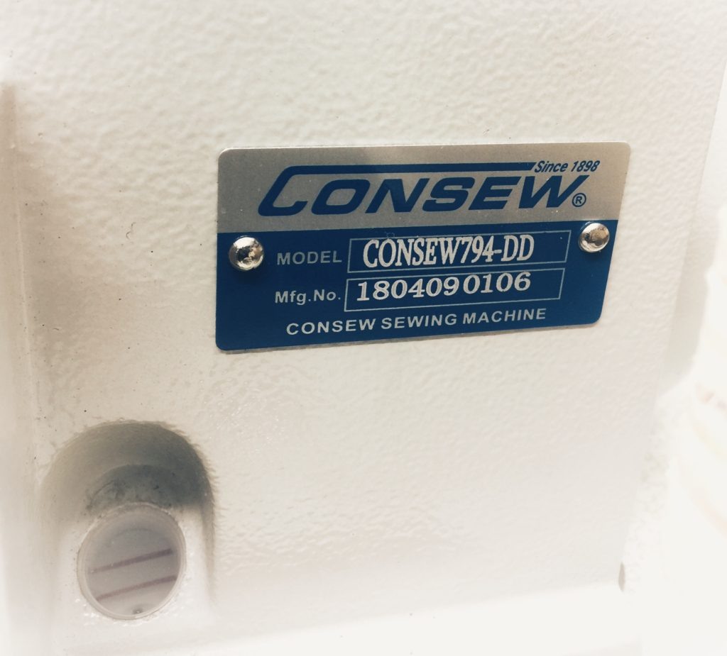 Consew 794-DD Consew 794 Double Needle, 4 Thread, High Speed Overlock Machine with Direct Drive motor