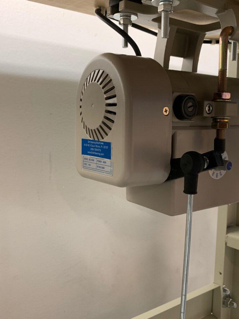 Juki 8100e Single Needle Lock Stitch With Servo Motor Assemble, Tested & Set up.