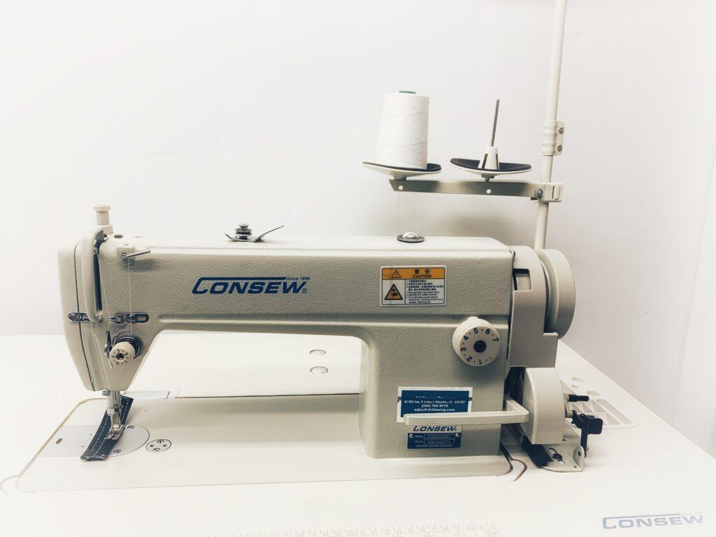 Consew 7360R Ultra High Speed, Single Needle, Drop Feed, Lock-stitch Machine Heavy Duty Machine