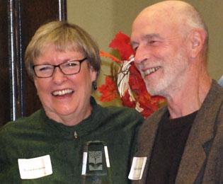 Diane Ronayne, Gary Richardson, Fund For Idaho, Community Catalyst Award
