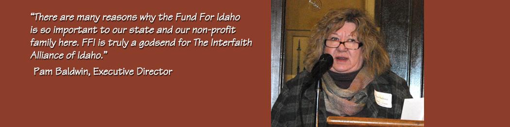 Fund for Idaho, The Idaho Interfaith Alliance