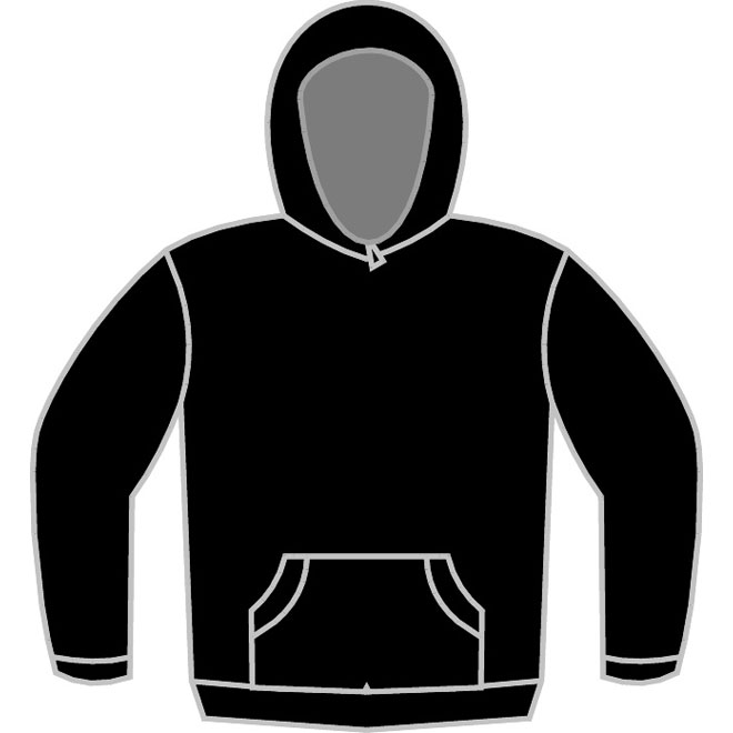 SY Hoodie Size Chart