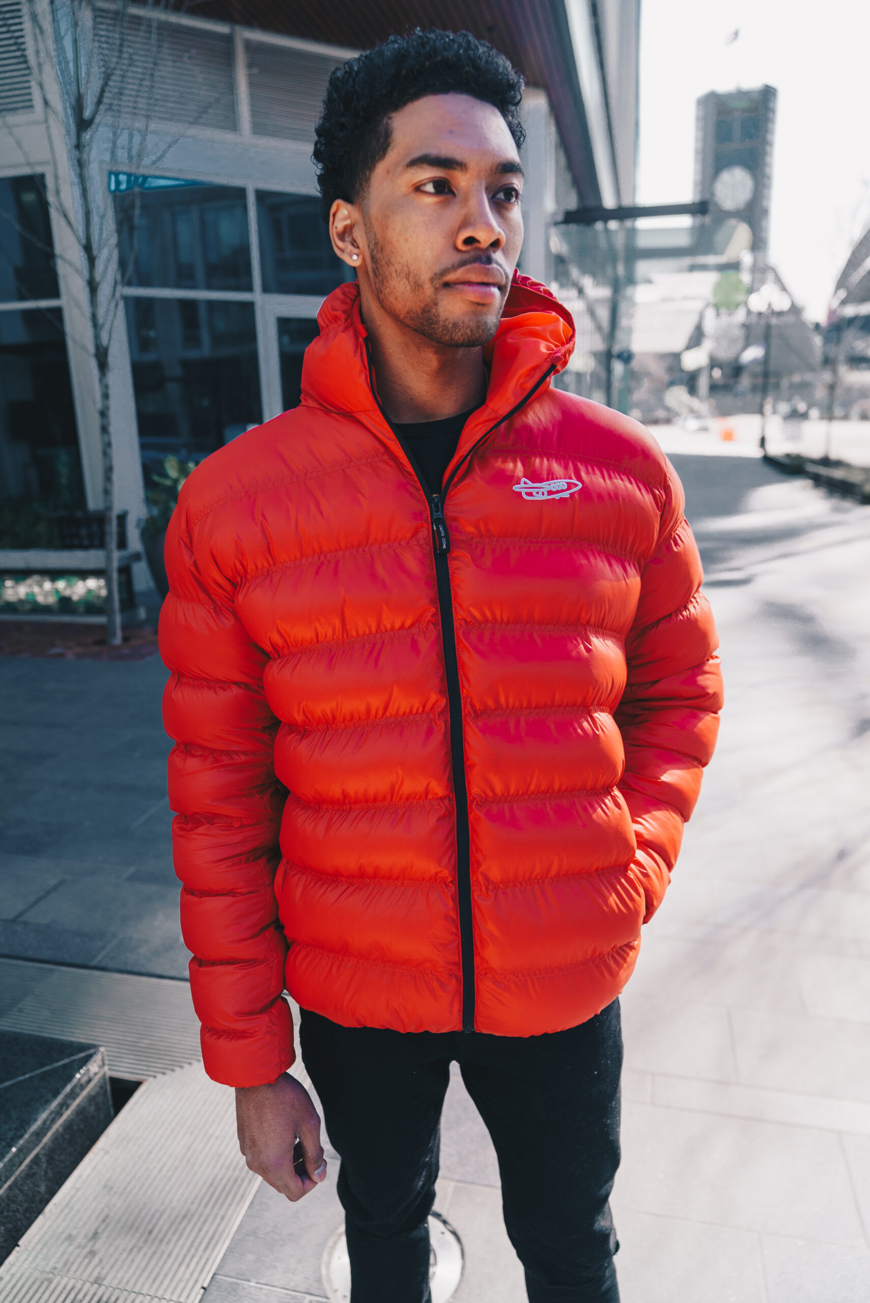 Red Puffer Front