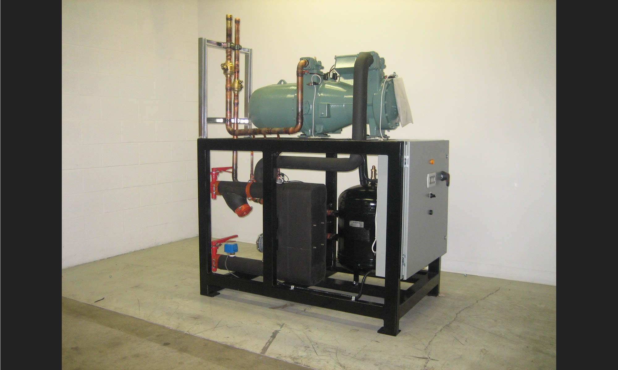 Condenserless Screw Modular Chillers