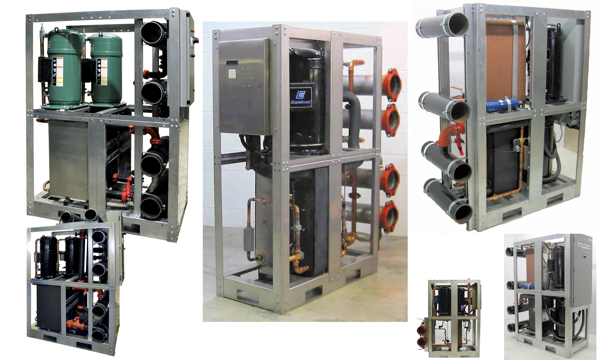 Water Cooled Central Chillers