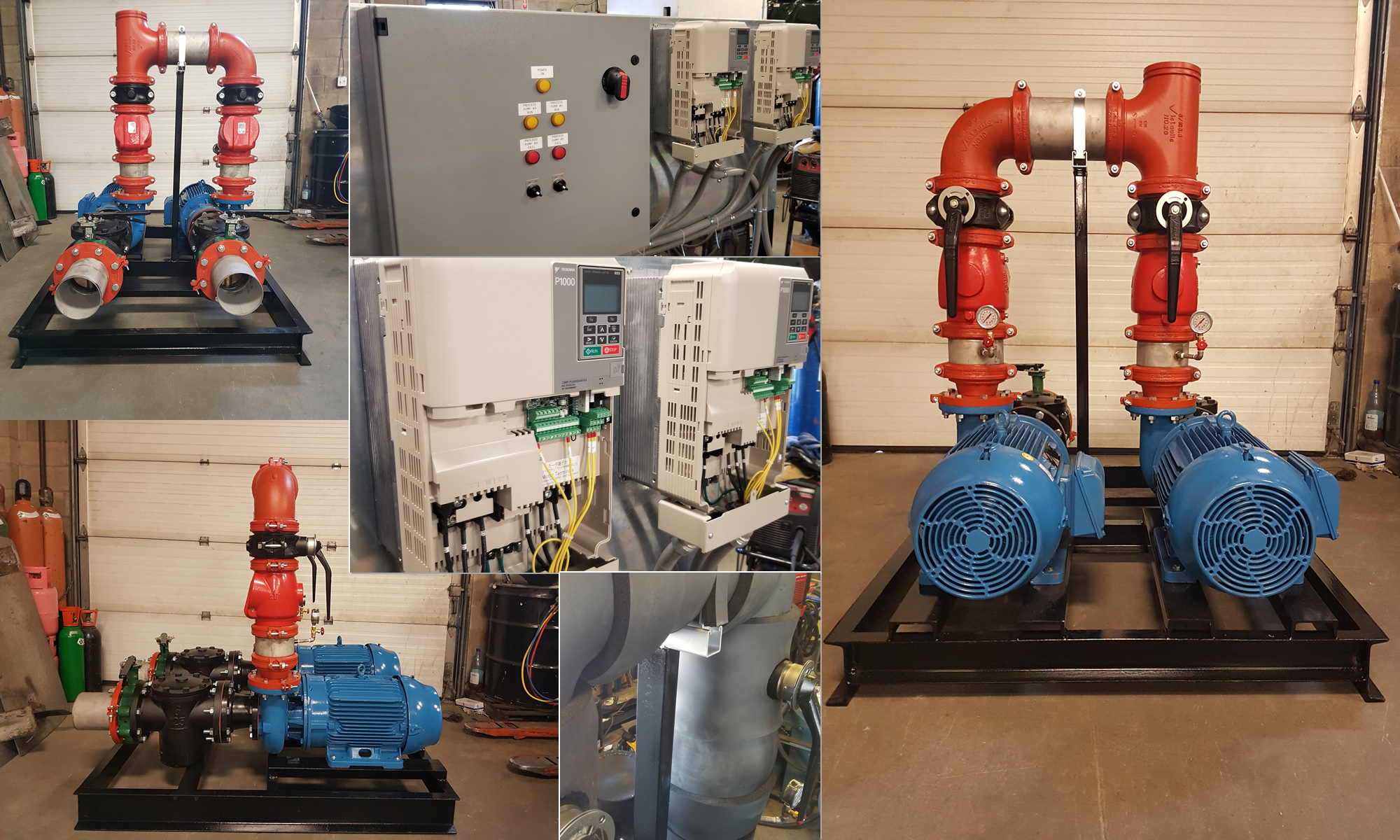 Pump Package For Plastic Processing Plant