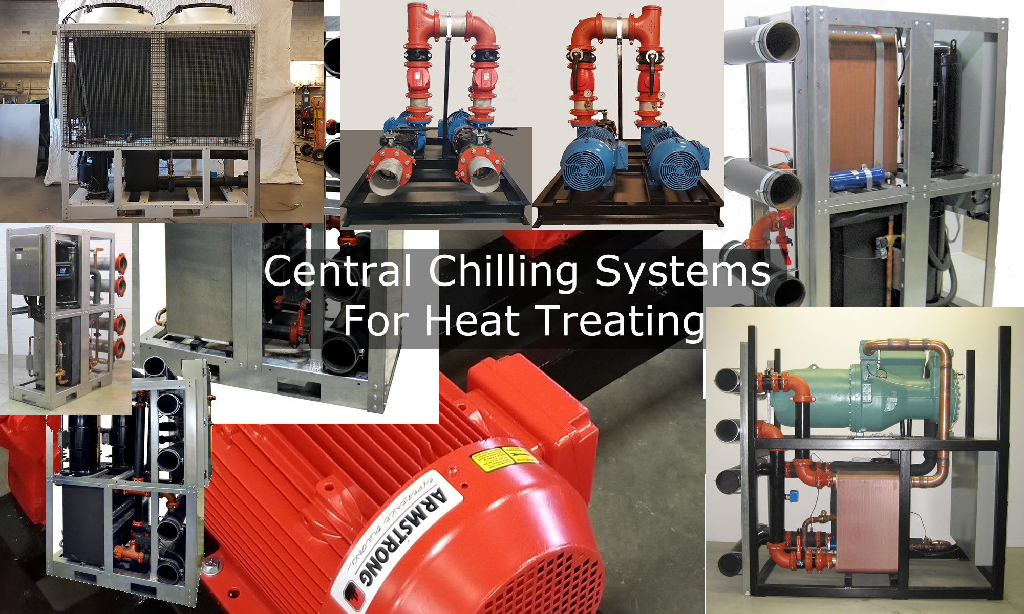 Central Chilling Systems For Heat Treating