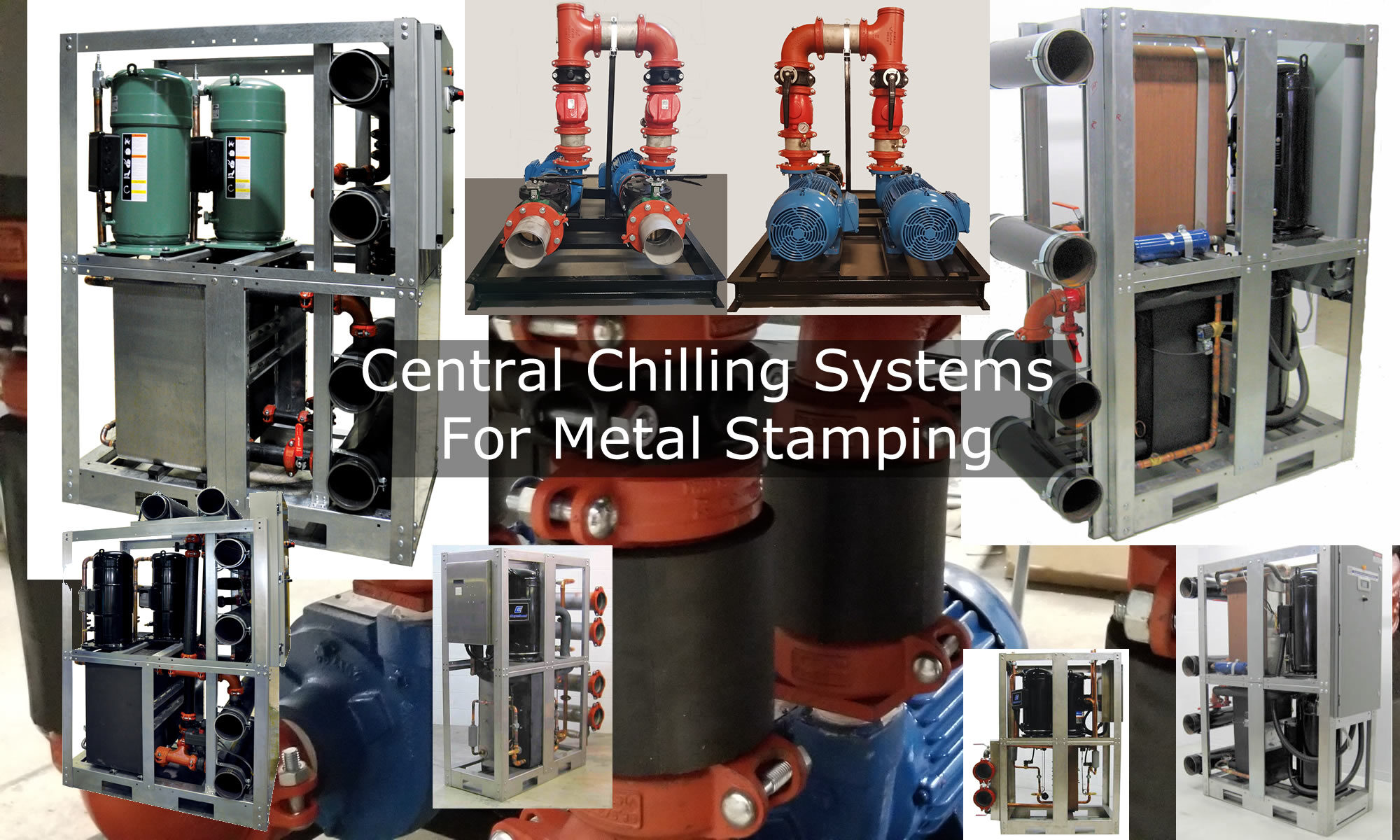 Central Chilling Systems For Metal Stamping