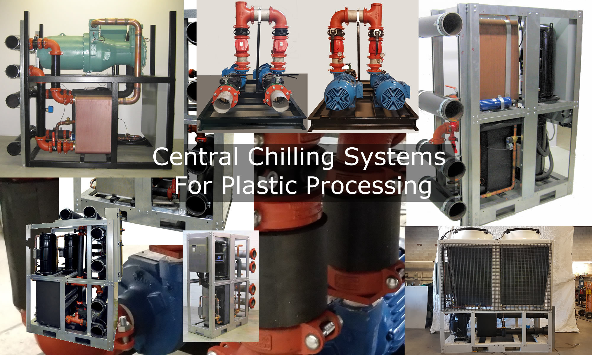 Central Chilling Systems For Plastic Processing