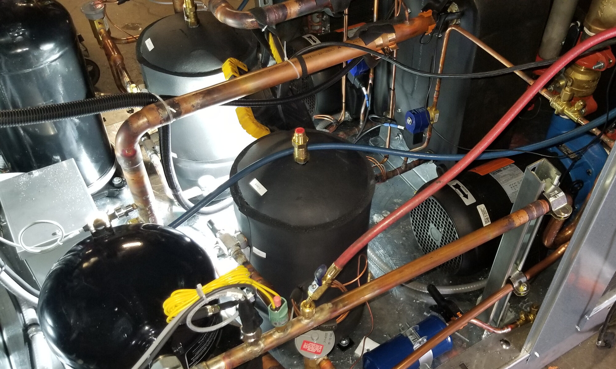 Chiller For Condensing Methane Gas