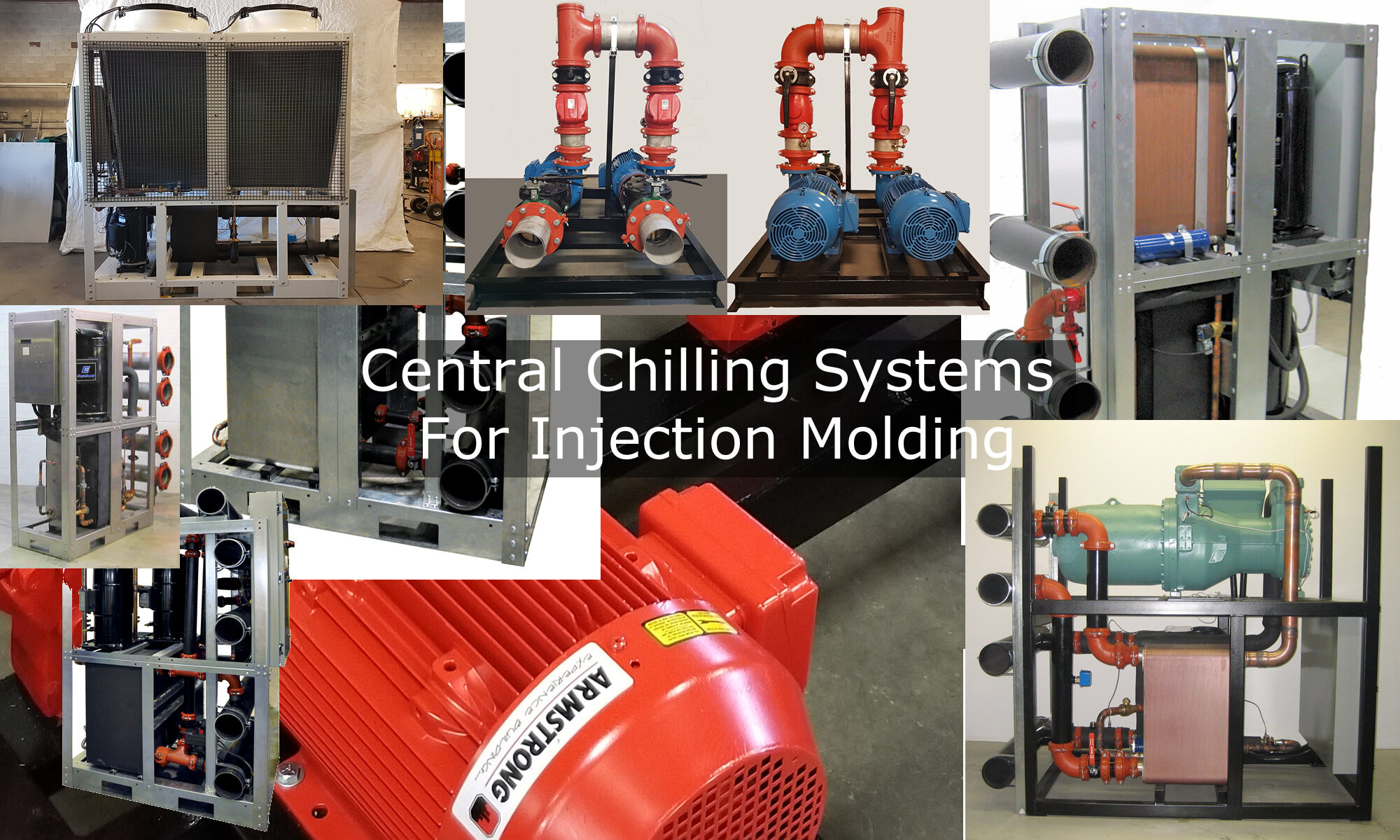 Central Chilling Systems For Injection Molding