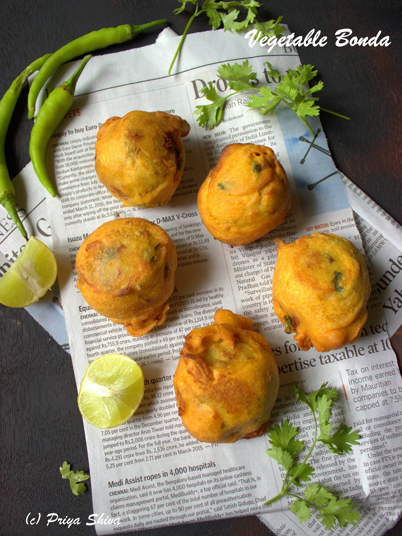 vegetable bonda recipe