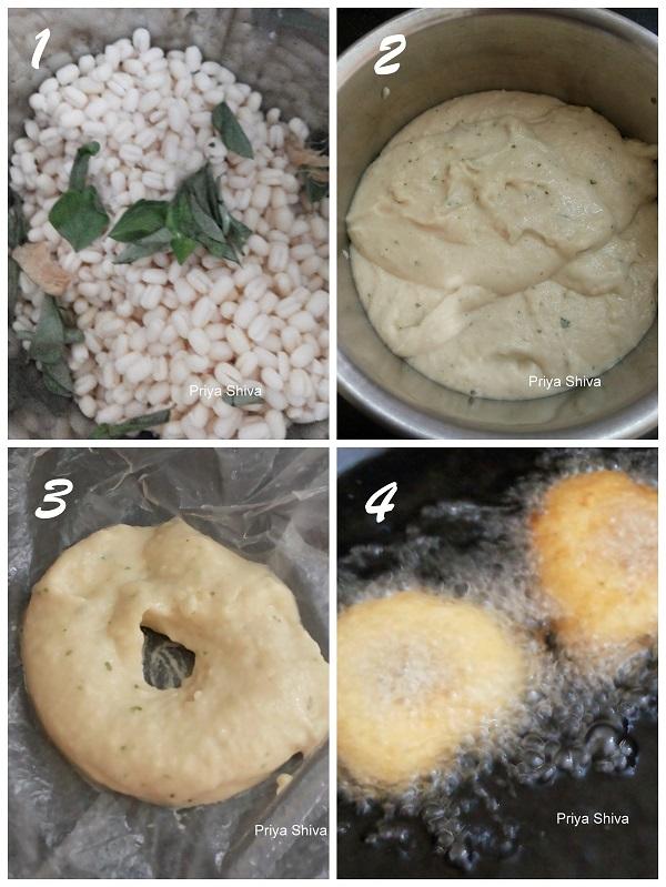 how to make ulundu vada