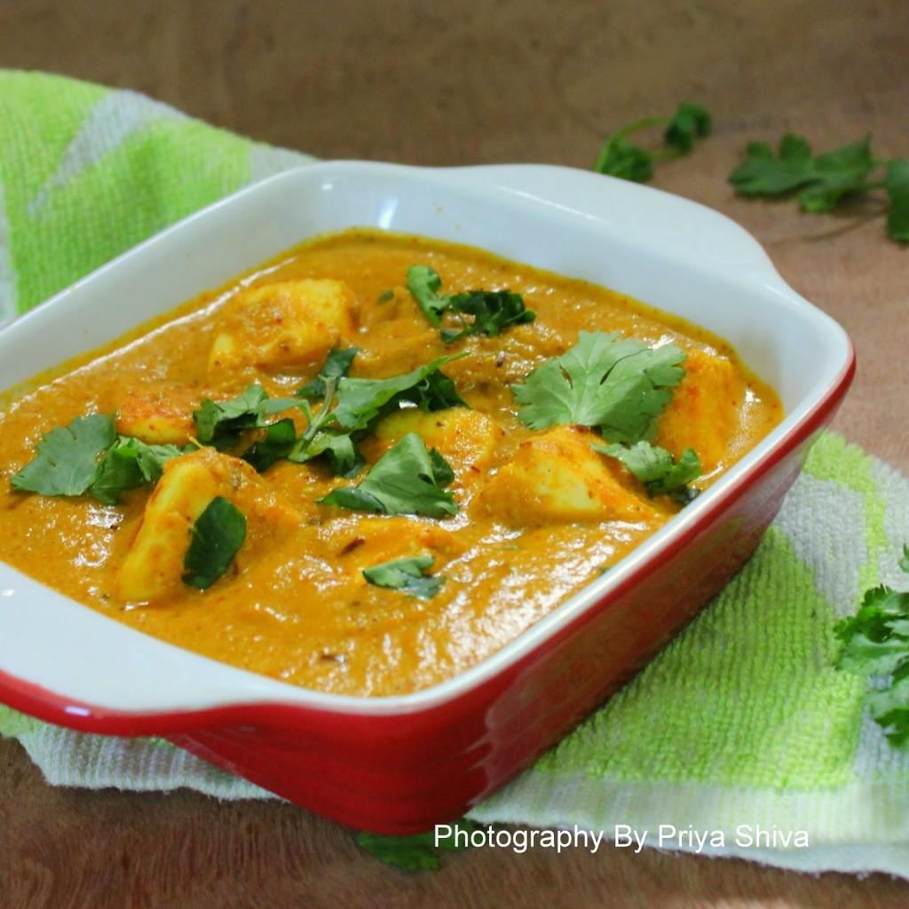 paneer, paneer curry, paneer pista curry, Indian curry