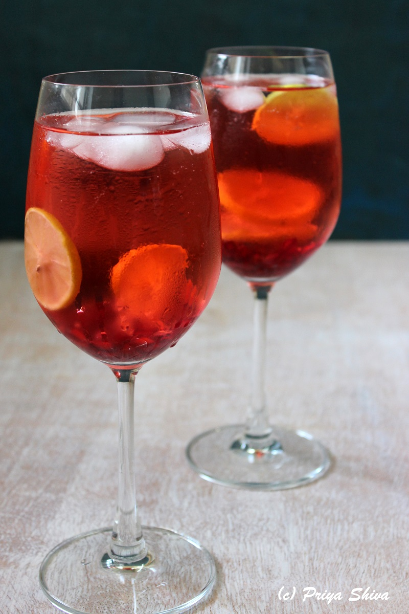 Pomegranate Lemon Ginger Punch recipe