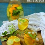 citrus detox drink