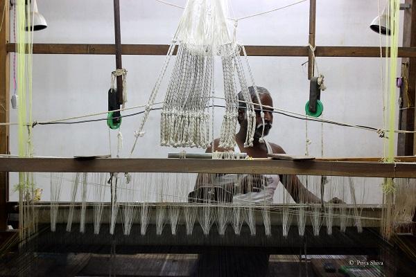 weavers colony kanchipuram