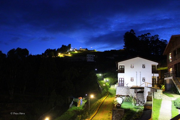 evening view of Great trails by GRT hotels