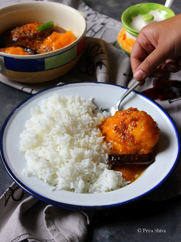 Ambe Upkari - Karnataka Style Ripe Mango Curry recipe