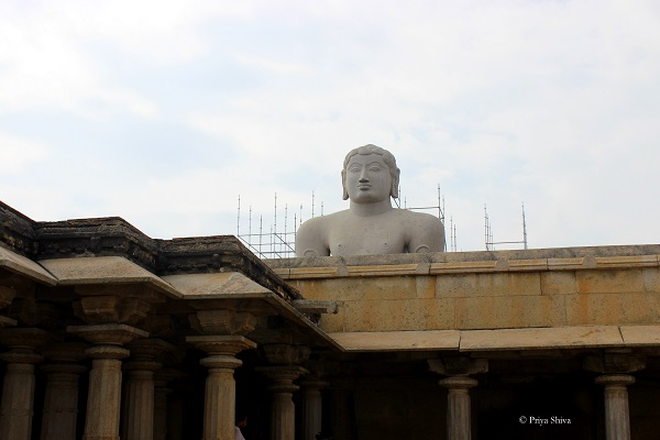 bahubali - Gommateshwara statue picture