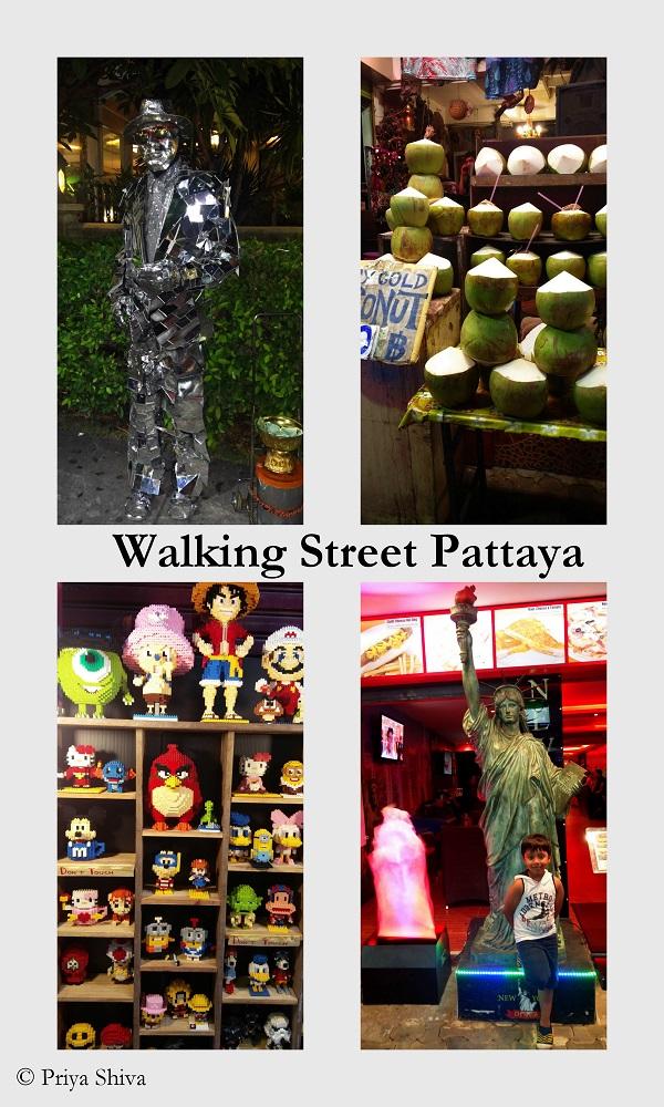 walking street pattaya pictures