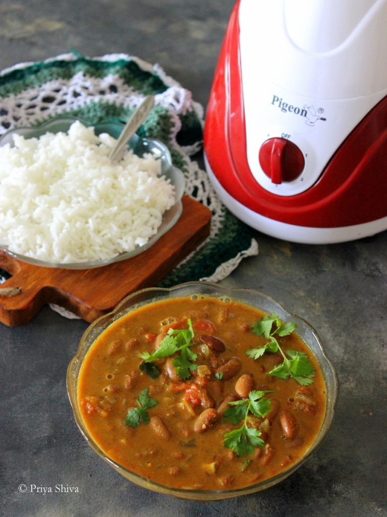 rajma coconut curry