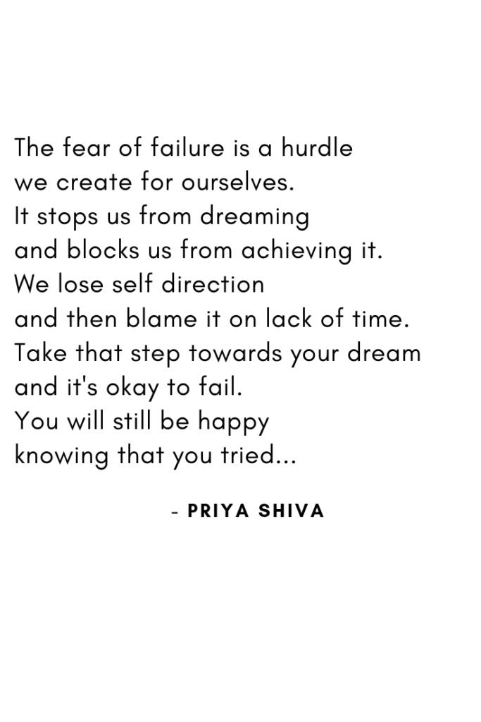 failure, prose, poetry