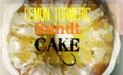 Healthier Cake With Lemon, Turmeric, And Ginger