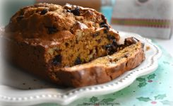 Banana Bread with Pumpkin Spice and Chocolate!