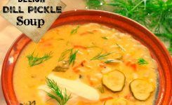 Dill Pickle Cheese Soup A Fall Delight!
