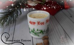 Homemade Eggnog…Cooked