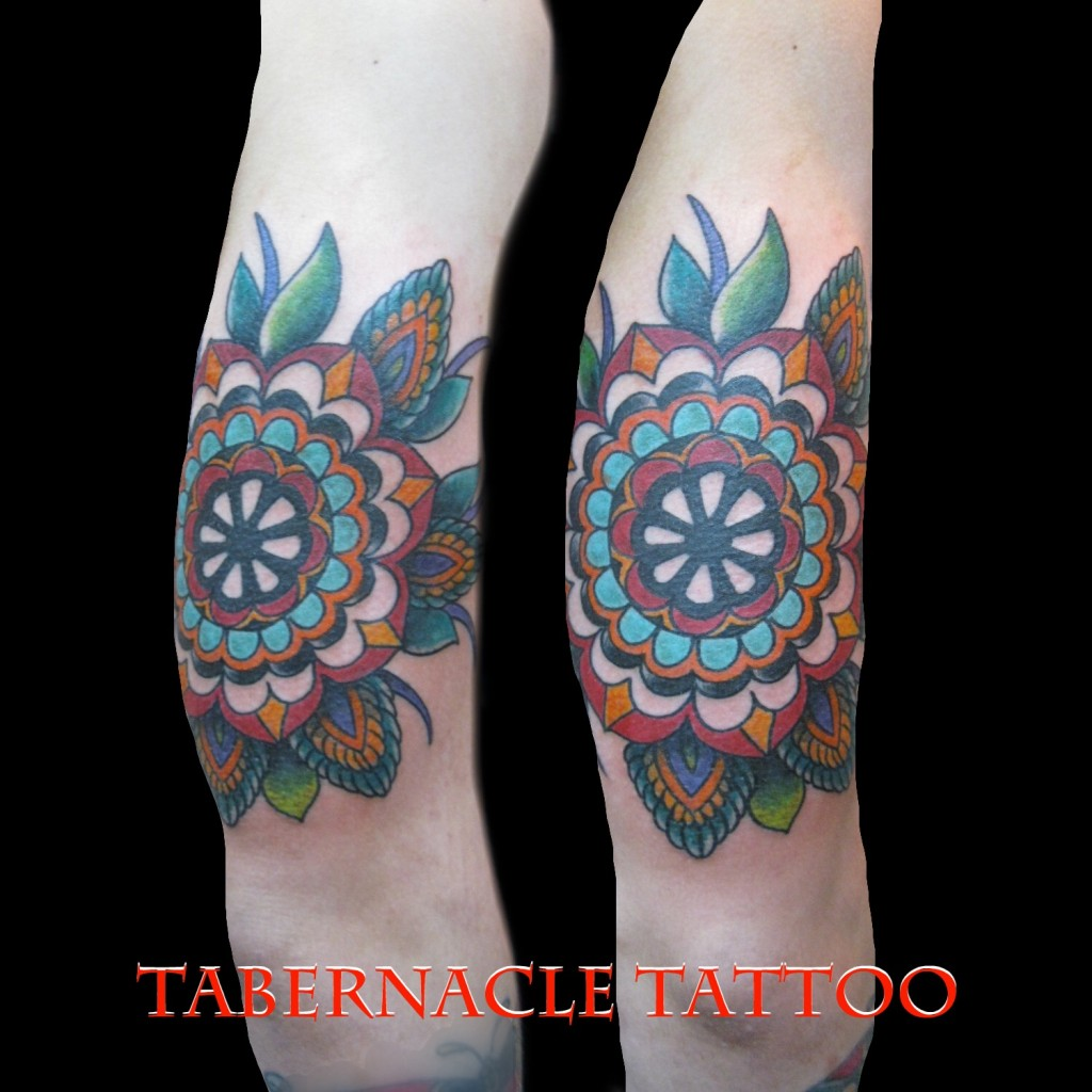 Mandala tattoo Tampa