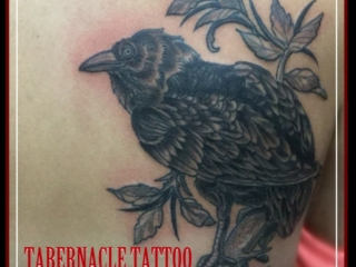 Black and Grey Tattoos, Tabernacle tattoo