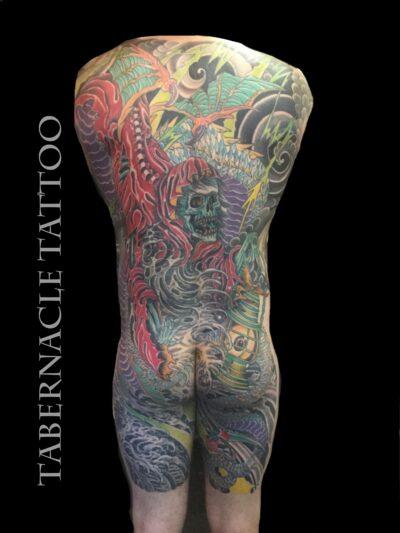 Body suit tattoo