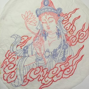 Oriental tattoo design from Japanese tattoo artist in florida