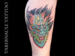 Tampa tattoo artist, Tabernacle tattoo