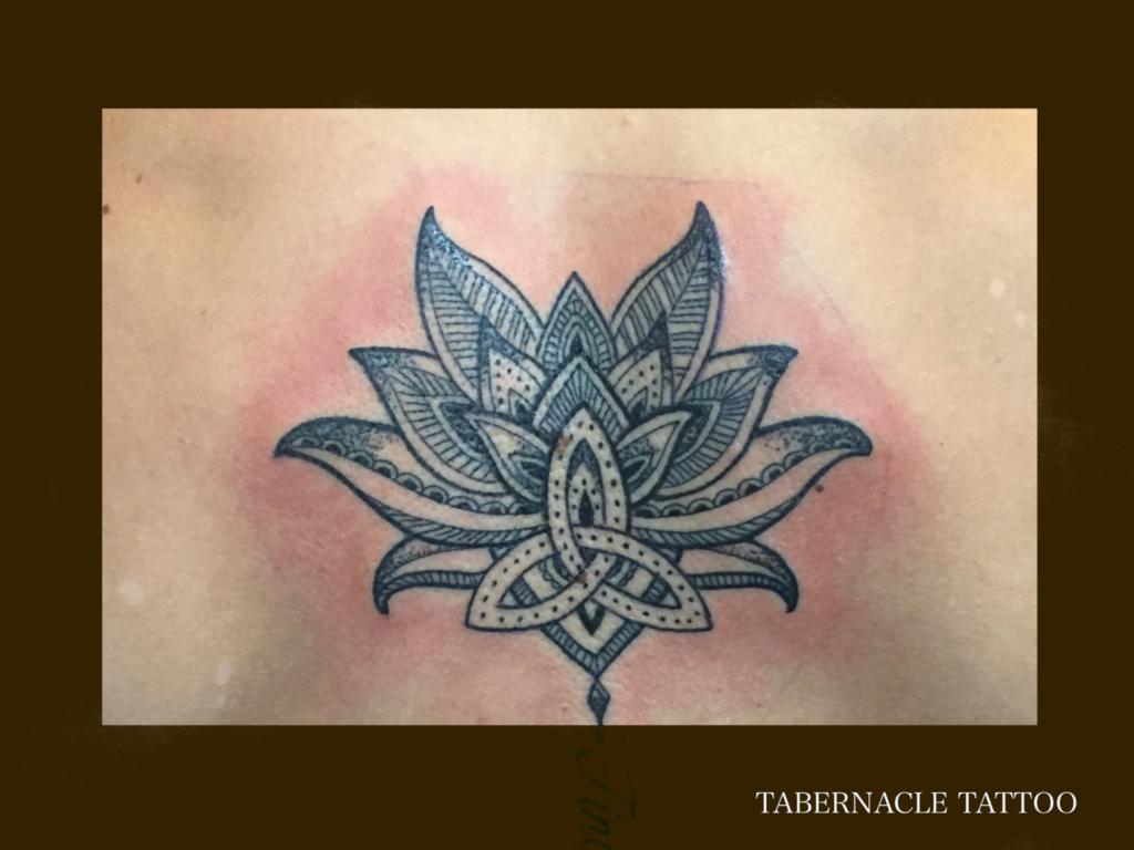 Dot work tattoo