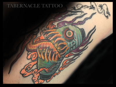 Yokai tattoo| Chōchin obake| Ghost Lantern