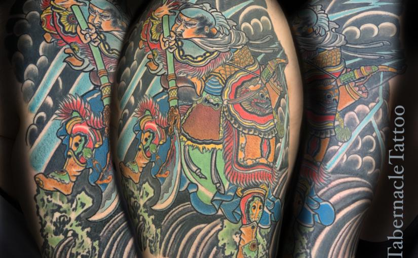 Japanese tattooing Tampa Fl