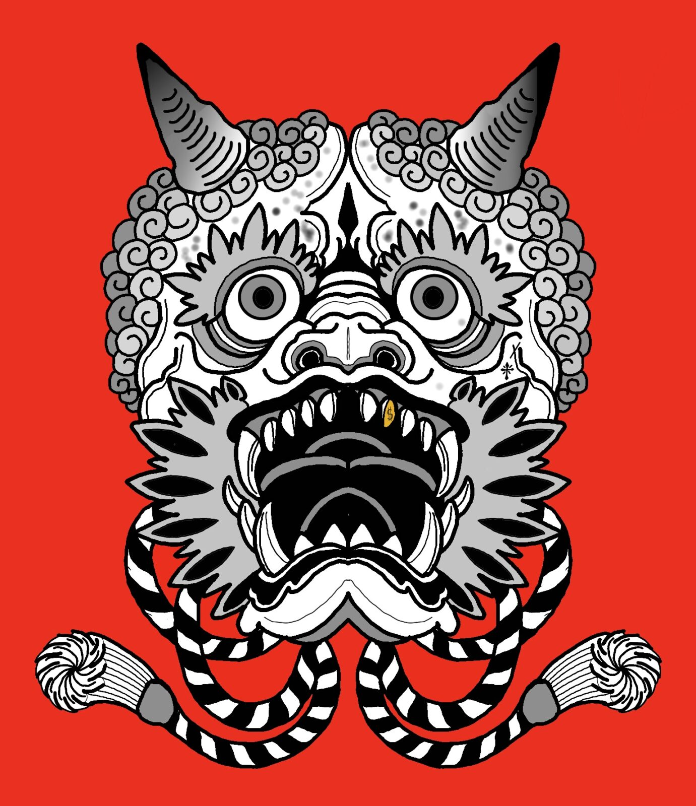 Oni Mask Tattoo Artist/Parlor in Tampa FL, Tabernacle tattoo