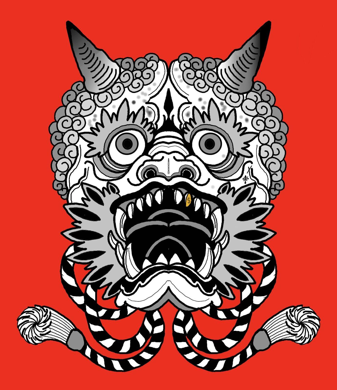 oni-mask-tattoo