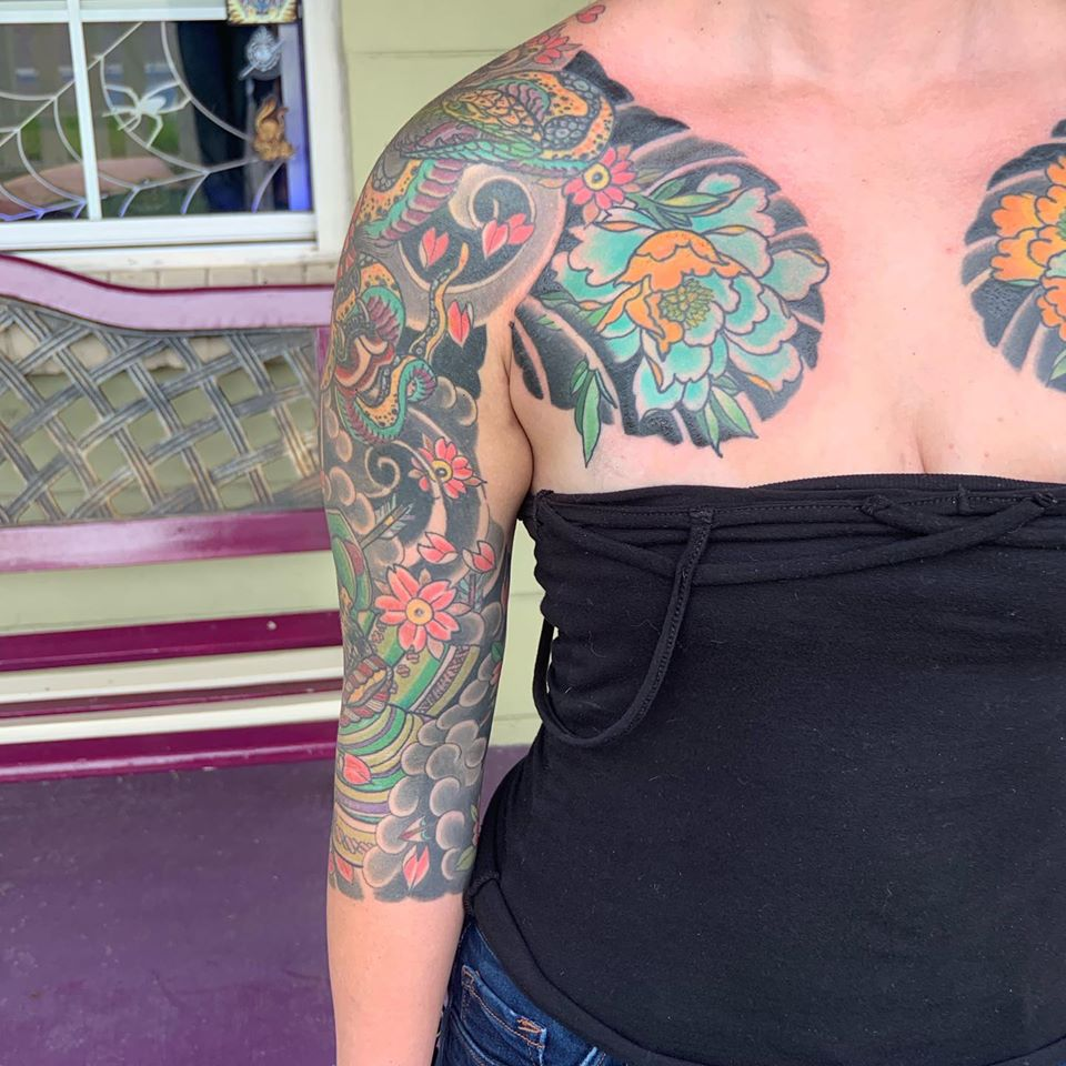 Tattoo and its Cover-ups in Tampa FL, Tabernacle tattoo
