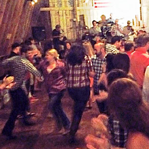 Virginia reel dance