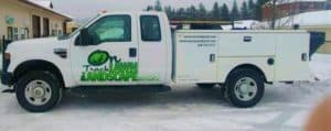 Lawn Care Truck Sandpoint Idaho
