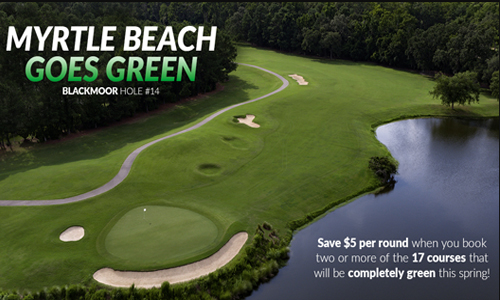 Blackmoor is part of the Going Green package!