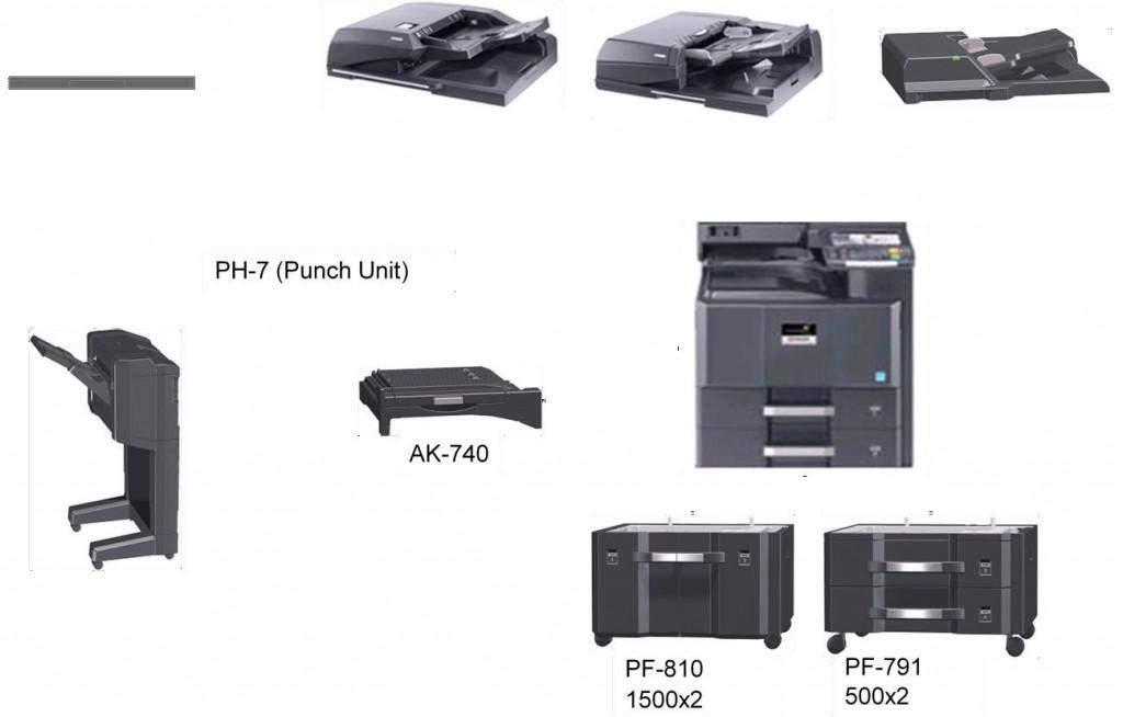 B KYOCERA DP-770 Electronics Office Electronics Accessories ...